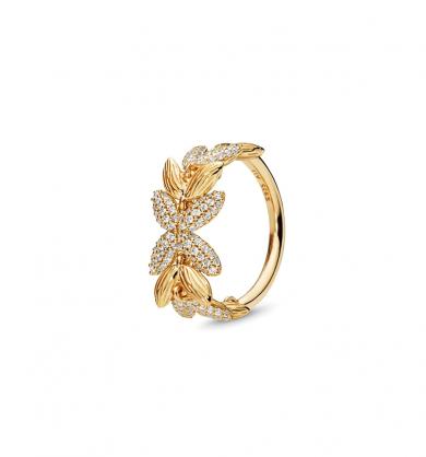 טבעת כסף סמלים רוחניים