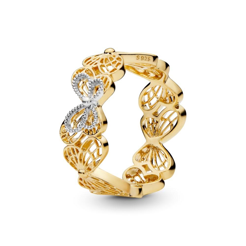 טבעת SHINE פרפרים מתעופפים