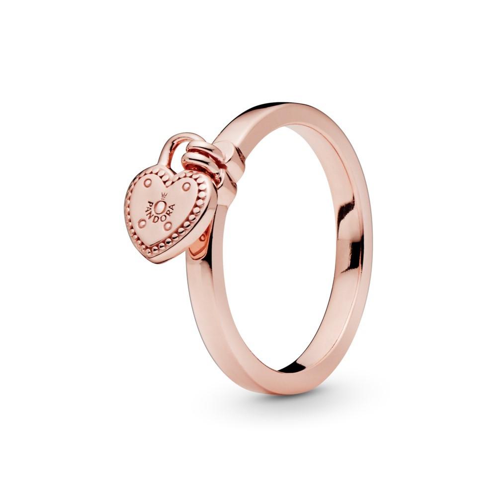 טבעת PANDORA רוז הבטחה נעולה