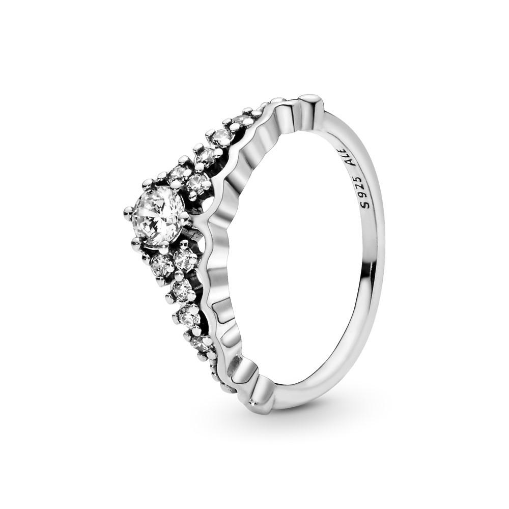טבעת כסף טיארה מהאגדות