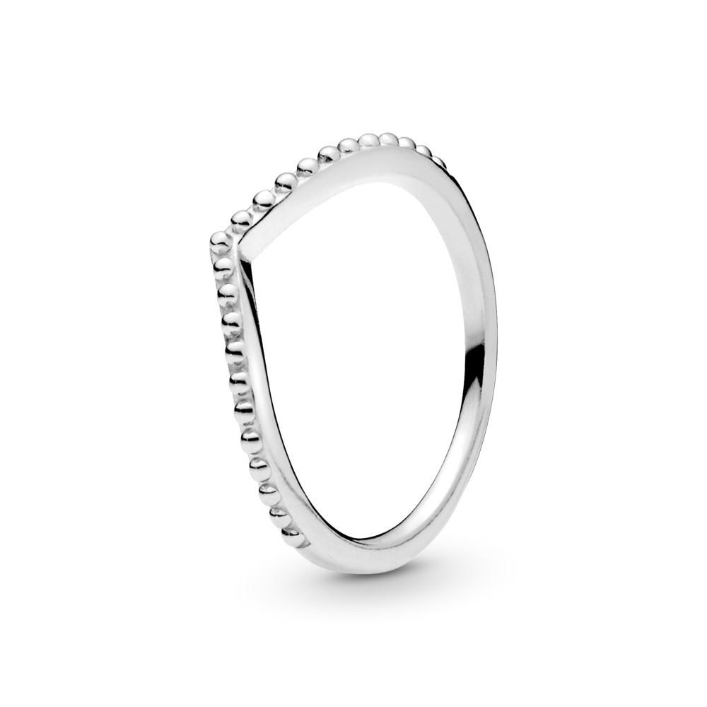 טבעת כסף משאלה מעוטרת