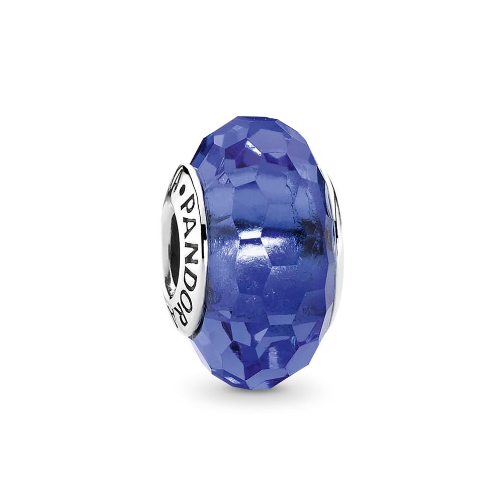 צארם זכוכית מוראנו רקועה כחול