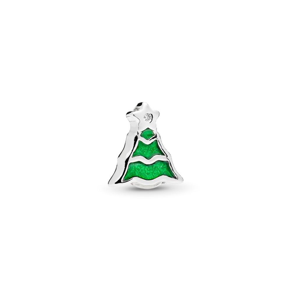 פטיט אלמנט כסף עץ חג המולד
