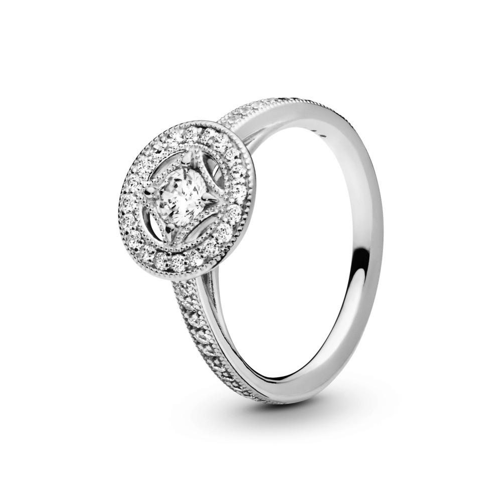 טבעת כסף  קסם וינטג