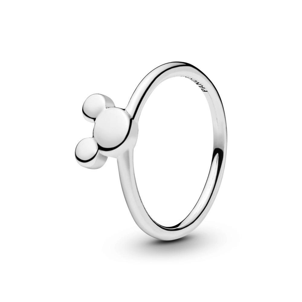 טבעת כסף דיסני סילואט מיקי