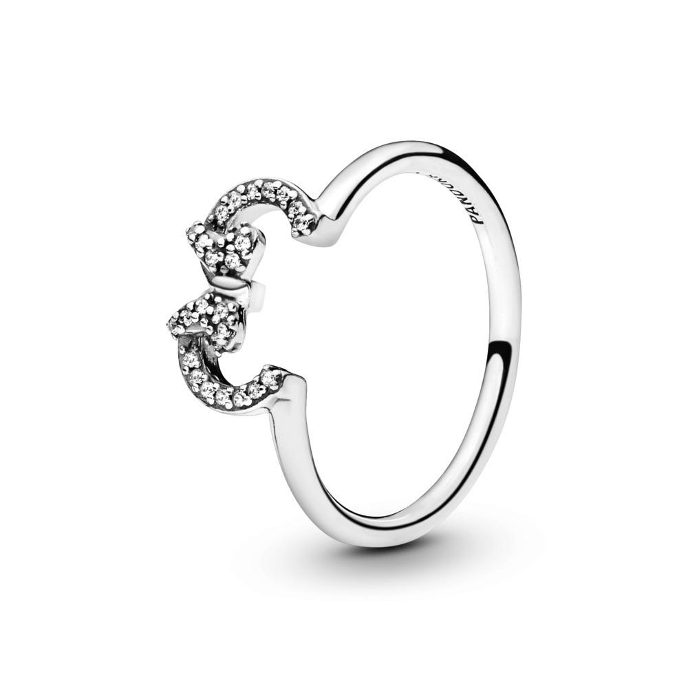 טבעת כסף דיסני סילואט מיני