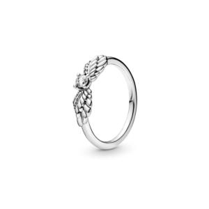 טבעת  כסף לבבות חלולים עוקבים