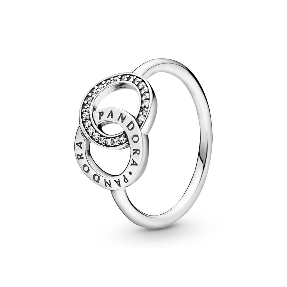 טבעת כסף מעגלי PANDORA