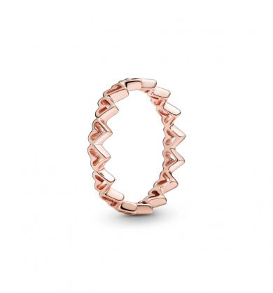 טבעת רוז לבבות מאויירים